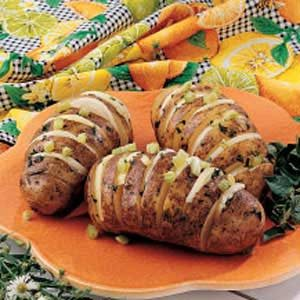 Grilled Potato Fans