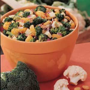 Broccoli Orange Salad