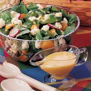 Spinach Cauliflower Salad