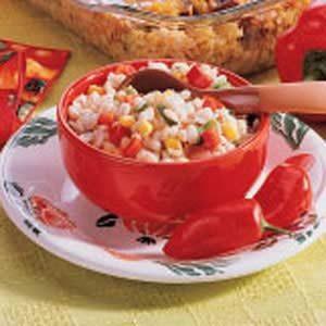 Corn and Barley Relish