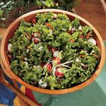 Warm Wilted Lettuce Salad