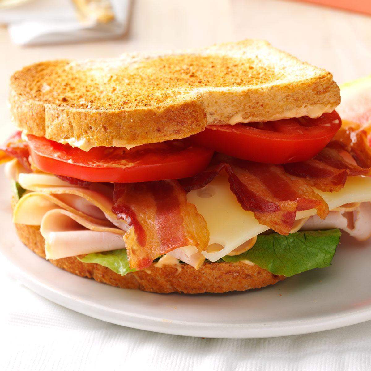 Chipotle Turkey Club Sandwich