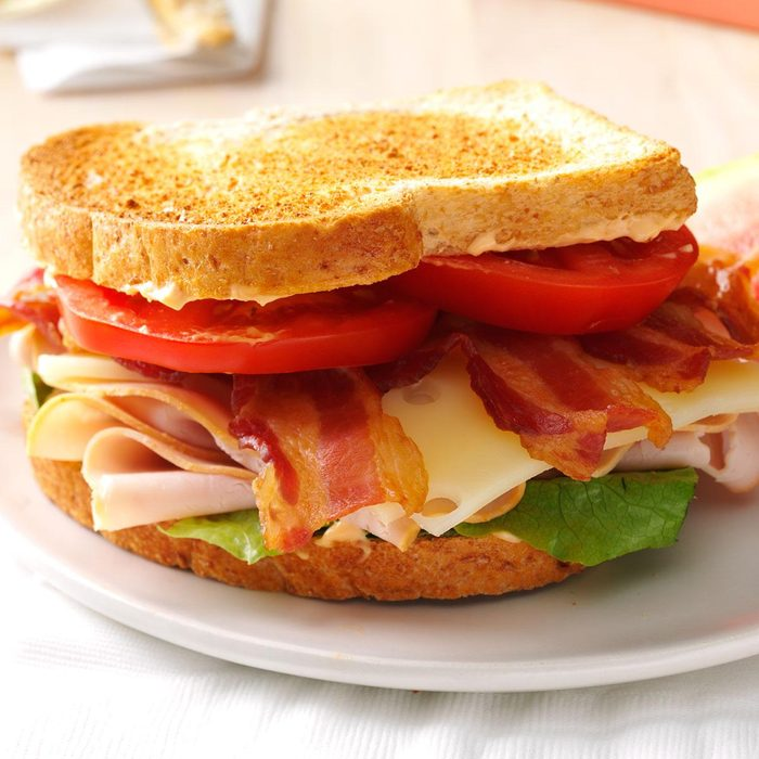 Turkey Club Sandwich with Chipotle