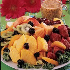 Poppy Seed Fruit Dressing