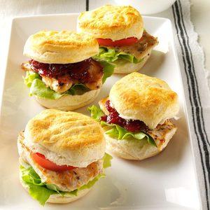 Mini Chicken & Biscuit Sandwiches