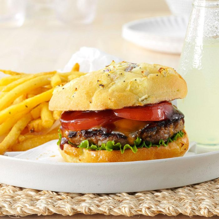 Inspired by: Red Robin's Whiskey River® BBQ Burger