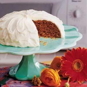 Casserole Carrot Cake