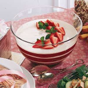 Rhubarb Berry Delight Salad