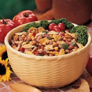 Barbecue Bean Salad