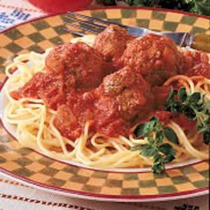 Italian Spaghetti 'n' Meatballs