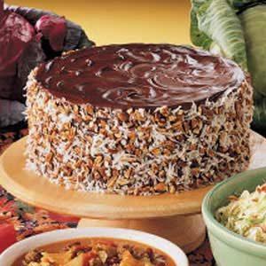 German Chocolate Sauerkraut Cake