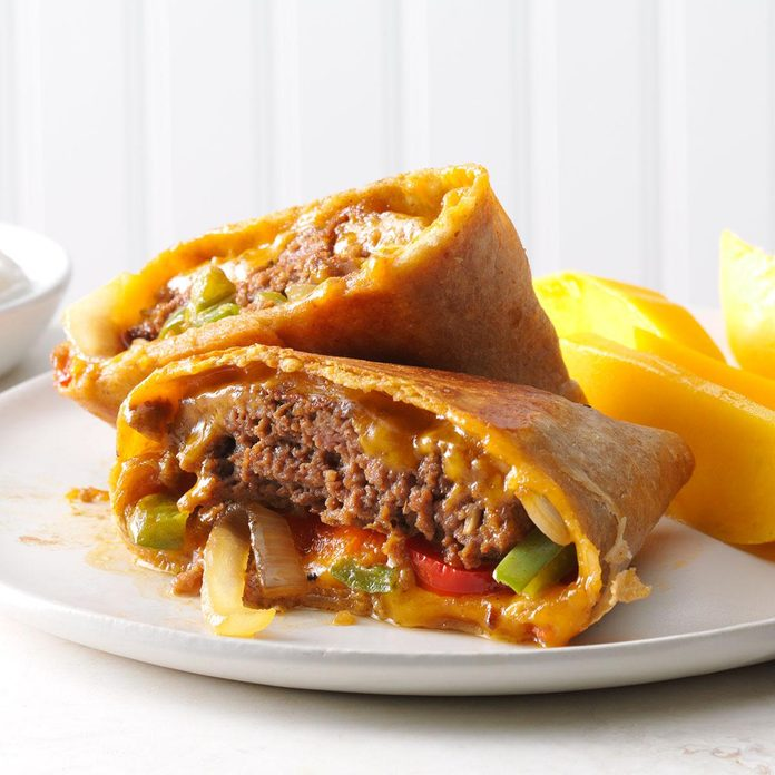 Inspired by: Aztec Quesadilla Burger
