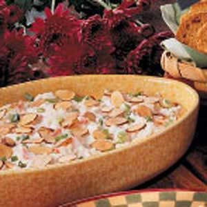 Toasted Almond Crab Dip