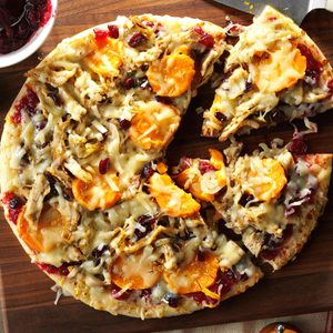 Thanksgiving Lover's Pizza