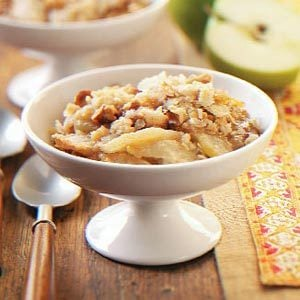 Caramel Apple Crisp Dessert