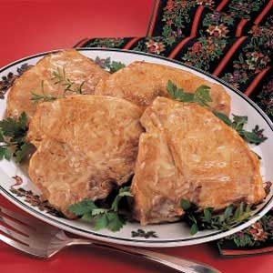 Chicken-Baked Chops