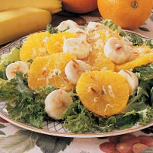 Orange Banana Salad