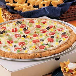 Slumber Party Cookie Pizza