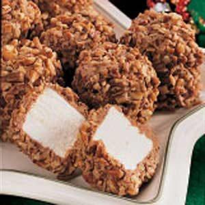 Nutty Chocolate Marshmallow Puffs