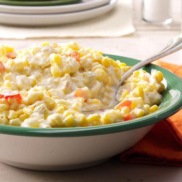 Slow-Cooker Creamed Corn