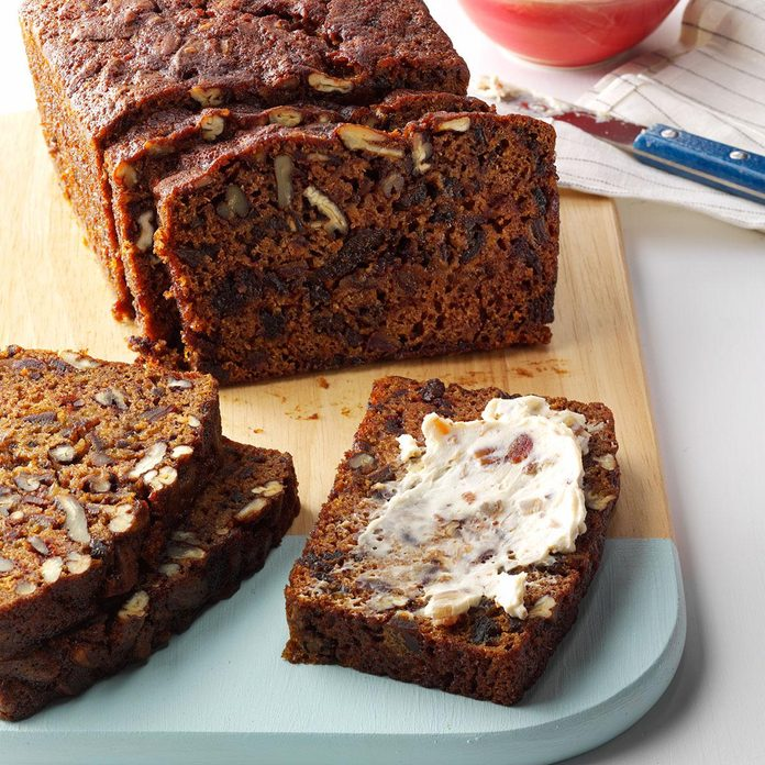 Date Pecan Tea Bread