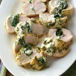 Spinach-Pesto Turkey Tenderloins