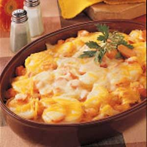 Scalloped Potatoes and Carrots