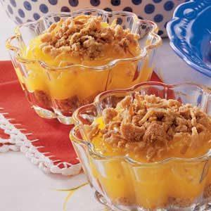 Butter Crunch Pudding