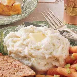 Dilly Mashed Potatoes