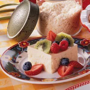 Creamy Cheesecake Squares