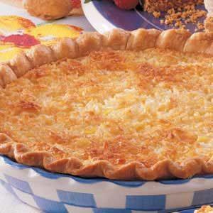 Coconut Pineapple Pie