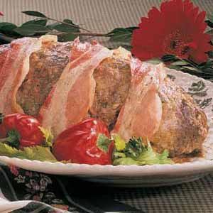 Green Pepper Meat Loaf