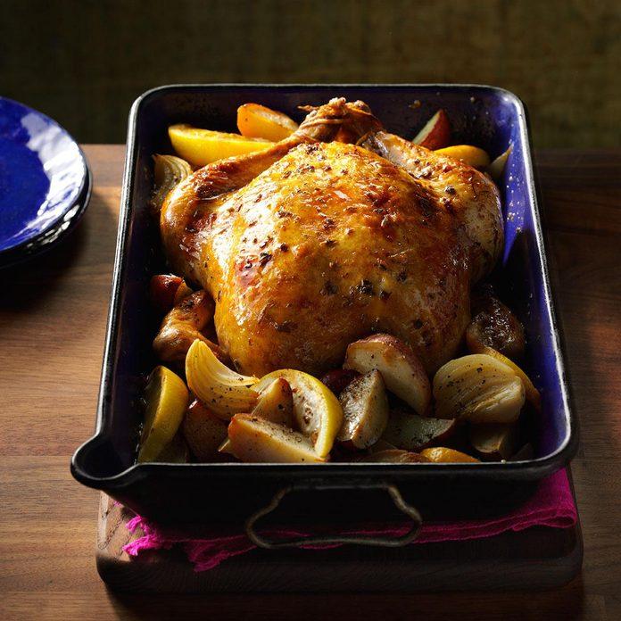 Lemon & Sage Roasted Chicken