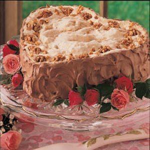 Sweetheart Walnut Torte