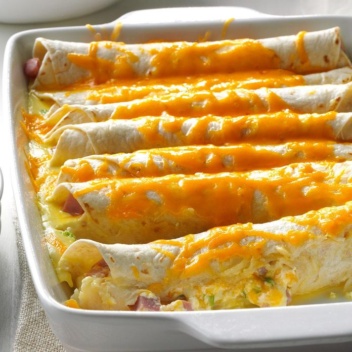 Brunch Ham Enchiladas