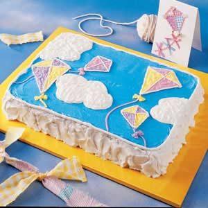 Kite Birthday Cake