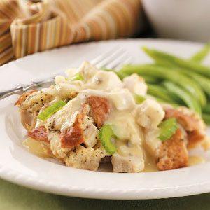 Chicken Supreme with Gravy