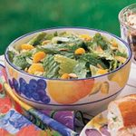 Romaine with Oranges and Almonds