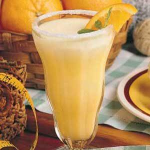 Homemade Orange Refresher