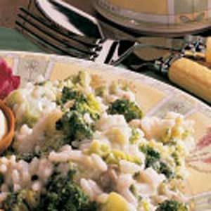 Broccoli with Rice