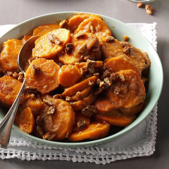 Applesauce Sweet Potatoes
