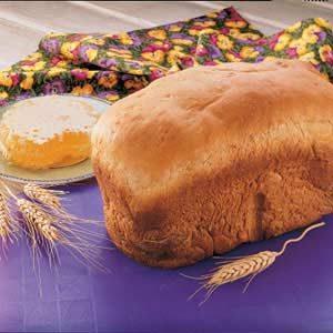Bread Machine Wheat Bread
