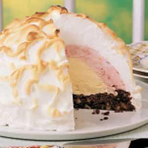 Brownie Baked Alaska