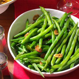 Fresh Green Beans & Garlic