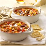 Hearty Sausage Minestrone