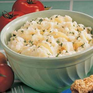 Onion Mashed Potatoes