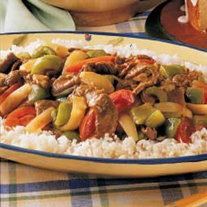 Curry Beef Stir-Fry