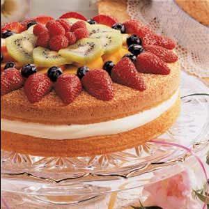 Midsummer Sponge Cake