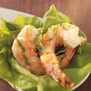 Basil Parmesan Shrimp