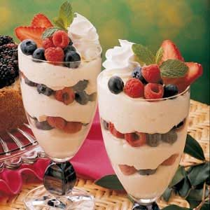 White Chocolate Parfaits